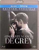 Blu-ray Cinquante Nuances de Grey - Edition Spéciale - Version Longue