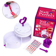 Plastic Mini Nail Printer Machine Portable Nails Device Polish Tools Manicure