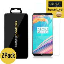 [2-Pack] SOINEED Tempered Glass Screen Protector Saver For OnePlus 5T A5010