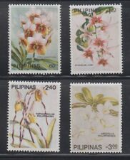 Philippine Stamps 1986 Philippine Orchids Complete set MNH