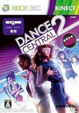 Used Xbox 360 Dance Central 2 MICROSOFT JAPAN JAPANESE JAPONAIS IMPORT