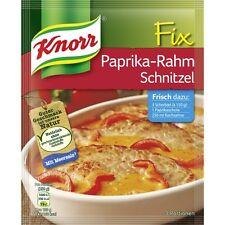 4 Bags  x KNORR Fix (Schnitzel with Paprika-Cream) **The Original**