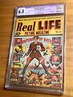 Real Life Comics #3 Classic Schombug Hitler Cover CGC 6.5 A 1 NO RESERVE