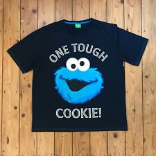 Sesame Street Cookie Monster TShirt Mens Size Large