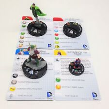 Heroclix Superman and Legion set COMPLETE set of 4 OP Kit LE figures w/cards!