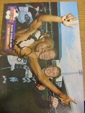 1990's Autograph: Derby County - Sturridge, Dean [Hand Signed Magazine Image, Ap