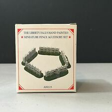 Liberty Falls Miniature Fence Accessory Set Of 5 Hand Painted Pewter New! Ah225