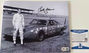 Bobby Allison Signed 8x10 Photo Beckett BAS COA NASCAR Daytona 500 Autograph