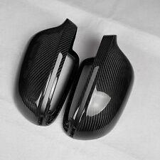 for Audi S4 B8 pre-facelift car mirror cover cap ABS + carbon fiber Replacement