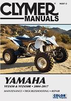 Yamaha YFZ Series ATV 2004-2017 Repair Manual