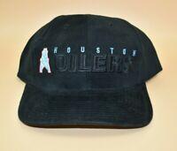 Houston Oilers NFL Twins Enterprise Vintage 90s Wool Strapback Cap Hat - NWT