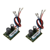2Pcs Treble/Bass Frequency Divider 2 Way Speaker Audio Crossover Filters