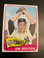 1965 Topps Jim Bouton #30 New York Yankees