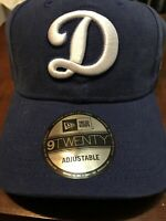 Los Angeles Dodgers LA New Era 9TWENTY MLB Strapback Adjustable Hat Dad Cap NEW