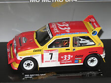1/18 MG Metro 6R4  33 Export Rallye des Garrigues-Languedoc-Roussillon D.Auriol