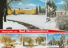 AK.Wintergrüße aus Bad Hermannsborn