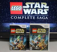LEGO Star Wars The Complete Saga Wii Complete Tested SAME DAY SHIPPING
