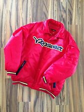 Men's Authentic Rocawear 100% Nylon Red Jacket
