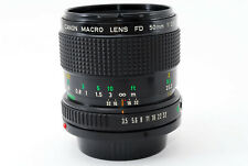 [Near Mint] Canon New FD 50mm f/3.5 Macro Manual focus Lens From Japan #683771