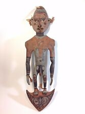 Excellent PNG Carved Spirit / Food Hook Figure  Papua New Guinea