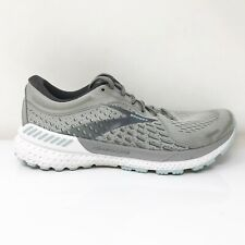 Brooks Womens Adrenaline GTS 21 1203291B061 Gray Running Shoes Lace Up Size 8.5