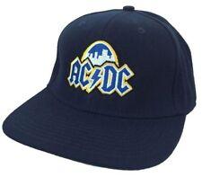 AC/DC St. Louis Skyline Event Concert Blue Baseball Hat Cap New Official Merch