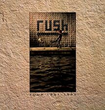 RUSH 1991 ROLL THE BONES  TOUR CONCERT PROGRAM BOOK / NEIL PEART / EX 2 NMT