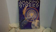 Amazing Stories Pulp July 1933 Sci Fi Illust.
