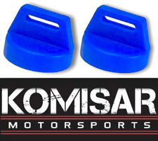 Polaris Key switch Ignition Cover 2 pack Blue 5433534 RZR XP 570 800 900 1000