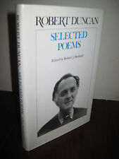 1st Edition SELECTED POEMS Robert Duncan FIRST PRINTING Poetry CLASSIC Fiction