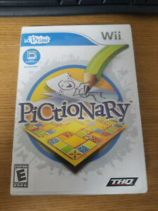 Pictionary - Nintendo Wii Game - Complete