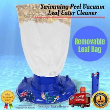 New Swimming Pool Vacuum Leaf Eater Cleaner Catcher Standard Click Hose Versatle