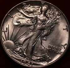 Uncirculated 1941-S San Francisco Mint Silver Walking Liberty Half