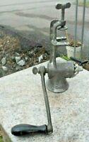 Metal Model #2 Meat Grinder Table Clamp Functional Hand Crank Antique Vintage