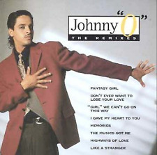 Audio CD - JOHNNY O - The Remixes - USED Excellent (EX) WORLDWIDE