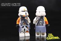 for LEGO Star Wars Minifigure 212th Airborne Trooper Clone Custom Cape Cloth Set
