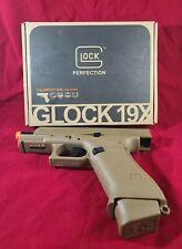 New listing Elite Force Glock G19X Gen Co2 Airsoft Pistol Half Blow Back - Coyote Tan
