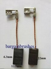 CARBON BRUSHES TO FIT BOSCH 06122 PLUNGE ROUTER 1614 1614EVS 0601614034 -D18