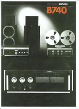 Revox  Bedienungsanleitung user manual für B 740 mehrsprachig Copy