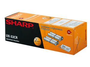 2x Original Fax-Rollen Druckfolie für Sharp UX P 710 DE UX A 760 UX-31CR UX-32CR