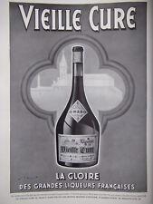 PUBLICITÉ DE PRESSE 1935 LIQUEUR VIEILLE CURE LA GLOIRE - WILQUIN - ADVERTISING
