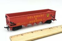 HO Scale Train BACHMANN Delaware & Hudson RED 4 Bay Hopper #12312