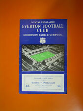 League Division One - Everton v Portsmouth - 22nd March 1958