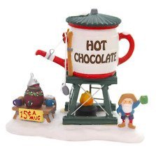 Dept 56 North Pole Village - Hot Chocolate Tower 56872 Retired In Box - New