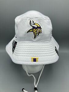 New Era NFL  Minnesota Vikings 100th Anniversary Training Bucket Hat OSFM