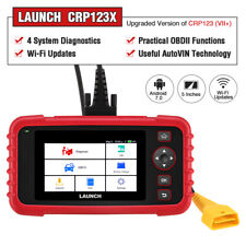 X431 CRP123X OBD2 Scanner Code Reader Engine ABS SRS Diagnostic Tool WiFi Update