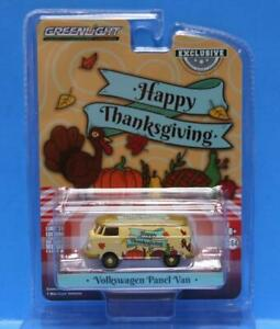 GREENLIGHT 1/64 *HAPPY THANKSGIVING 2020* VW VOLKSWAGEN Type 2 Panel Van