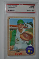 1968 Topps - Phil Roof - #484 - PSA 9 - MINT