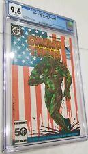 Saga Swamp Thing # 44 CGC 9.6 1986 Batman John Constantine Appearance DC Flag