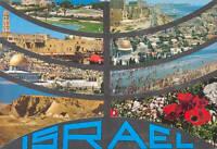 Israel - tarjeta postal- - 8 ciudades